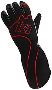 K1 Race <b>Gear</b> RS1 Reverse <b>Stitch</b> Kart Racing Gloves (Red/<b>Black</b> ...