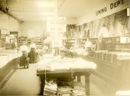 strawbridge and clothier s game of consumerism winterthur museum 1900 photograph of a dry goods lining department reminiscent of strawbridge
