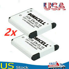 US <b>2X</b> Li-ion <b>EN-EL19 ENEL19</b> Battery for Nikon Coolpix S3100 ...