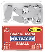 Saddle <b>Metal</b> Matrices. TOR VM