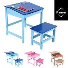 study desk and chair set school drawing homework table stool for kids children childrens office chair