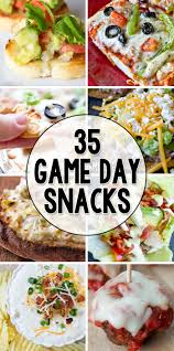 35 Game Day Appetizers