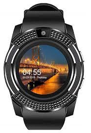 Pikyo R-V8 Sweatproof Bluetooth Wrist <b>Camera Smartwatch</b> ...