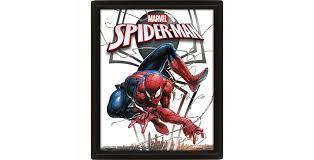 Постер <b>3D</b> Marvel (<b>Spiderman</b> / Venom) - купить в Минске, цены