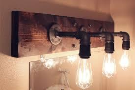 decoration modern bathroom light fixtures comely