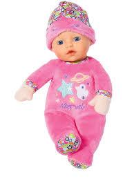 Игрушка <b>BABY</b> born for <b>babies Кукла мягкая</b> с твердой головой, 30 ...