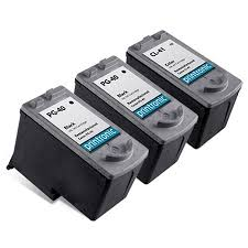 <b>Compatible</b> Canon <b>PG-40</b> Black <b>Ink Cartridge</b> and Canon <b>CL-41</b> ...