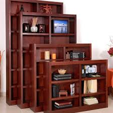 concepts in wood double wide veneer bookcase bookcases at cherry product review video home decorator cherry veneer home furniture