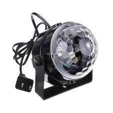 Online Shop <b>MINI</b> Voice Control <b>RGB LED</b> Stage Lamps Crystal ...