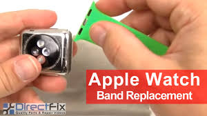 How to <b>Apple Watch Band</b> Replacement Instructions in 1 Minute ...