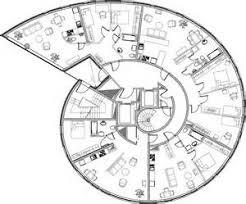 Semi Circular House Floor Plan  Feet Semi Circular Shaped Villa    Spiral House Floor Plans