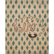 <b>Тетрадь общая Kroyter</b> Hello (А5, 48 листов, клетка, на скрепке ...
