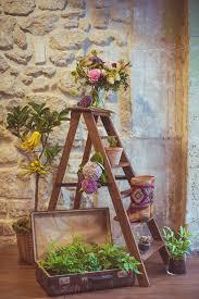 flowers wedding decor bridal musings blog: ladder wedding decor camille marciano for junophoto bridal musings wedding blog