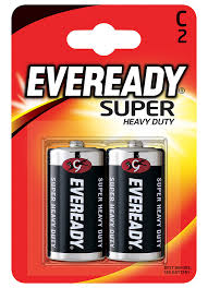 <b>Батарейки Energizer</b> Eveready <b>Super R14</b> С 1,5V, 2шт - купить с ...