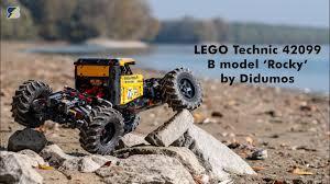 LEGO Technic <b>off</b>-<b>road RC</b> rock crawler - 42099 B model by Didumos