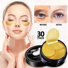 Vanelc 24k Gold Eye Mask-with Collagen Under Eye ... - Amazon.com