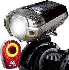 BLITZU Gator 390 USB Rechargeable LED Bike Light ... - Amazon.com