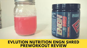 Evlution Nutrition <b>ENGN SHRED Preworkout</b> Review - YouTube