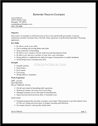 bartender resume description the above sample bar managers resume bartender resume waitress description perfect
