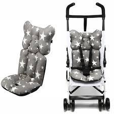 Fashion <b>Printed Stroller Cushion</b> Seat Cover <b>Baby</b> Diaper <b>Pad</b> Seat ...