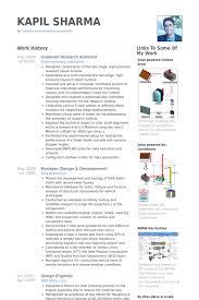 graduate research assistant resume samples   visualcv resume    graduate research assistant resume samples