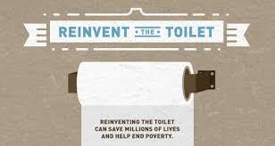 Grafica de reinvent de toilet reinventando el inodoro