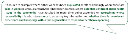 house of commons public health post health committee it has led to examples where either work has been duplicated or rather alarmingly where