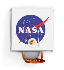 Скатерть квадратная <b>NASA</b>   <b>НАСА</b> #1688903 от The Spaceway