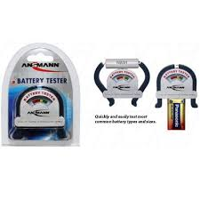 <b>Ansmann 4000001 Battery Tester</b> for Primary & Rechargeable ...