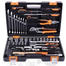 <b>Набор инструментов</b>,1/2, 1/4, СrV, пластиковый кейс, <b>76</b> ...
