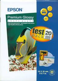 <b>Фотобумага Epson Premium Glossy</b> 13x18, 255г/м2, 20 листов ...