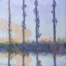 the four trees claude monet work of art the four trees