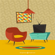 home furniture in cartoon style premium vector furniture in style