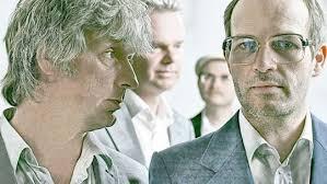 Ekki Maas, Wolfgang Proppe, Christian Wübben und der Sänger Markus Berges (von links) wollen immer da sein, wo der Zeitgeist gerade nicht ist   © Matthias ... - erdmoebel-540x304