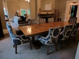 Parsons Dining Room Table Choosing The Best Upholstered Dining Room Chairs Darling And Daisy