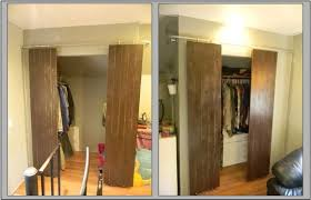 closets with sliding barn style doors barn style sliding doors