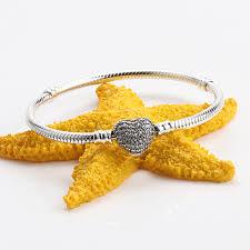 <b>Authentic 100</b>% <b>925 Sterling</b> Silver Charm Bracelets For Women ...