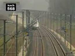 TGV speed record <b>574</b>,8 km/h - YouTube