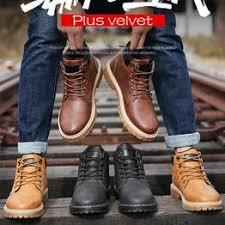 Fashion <b>Large Size</b> High-top Tooling <b>Boots</b> Casual <b>Boots Men</b> ...