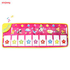 <b>Mat Musical 100x36cm</b> Baby <b>Musical</b> Carpet Play <b>Piano Mat</b> & 8 ...