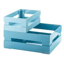 <b>Набор из 2 ящиков</b> Tidy & Store голубой купить в интернет ...