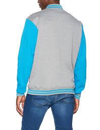 <b>Urban Classic</b> Mens Varsity <b>Jacket</b> Sweatshirts