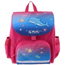 <b>Herlitz Ранец дошкольный</b> MINI SOFTBAG Little Dolphin купить в ...