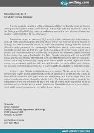 recommendation for residency  letter recommendation     Cover Letter Templates