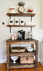 if your coffee obsession has escalated the point where you need a designated coffee bar unique diy coffee station