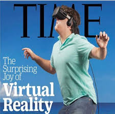 TIME's Virtual Reality Magazine Cover | Know Your Meme via Relatably.com