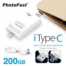 【200G】PhotoFast iTypeC 雙頭龍(A500105) | 快3網路商城~燦坤實體 ...