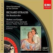 Richard <b>Strauss</b>, <b>Herbert von Karajan</b>, Elisabeth Schwarzkopf ...