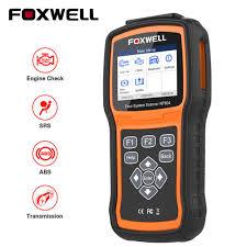 <b>FOXWELL NT604 OBD2 Scanner</b> Engine ABS SRS Transmission ...