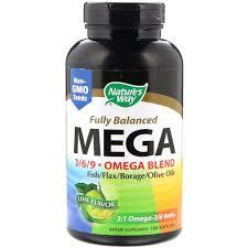 Nature's Way Omega 3-6-9 <b>Fully Balanced Mega 3/6/9</b>